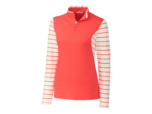 ANNIKA Sun-Up Stripe 1/2 Zip Long Sleeve - LAK00126