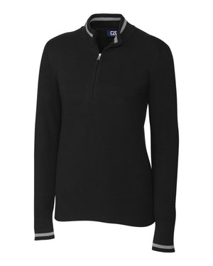 Cutter & Buck Lakemont Tipped Half Zip - LCS00005