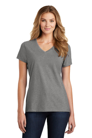 Port & Company  Ladies Fan Favorite  Blend V-Neck Tee. LPC455V