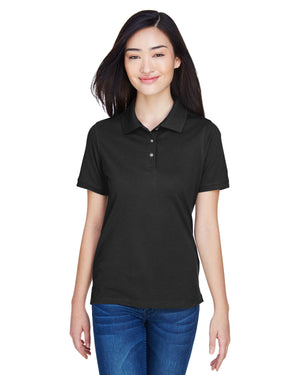 Harriton Ladies' 5.6 oz. Easy Blend™ Polo - M265W