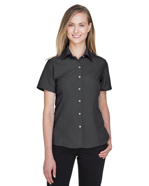 Harriton Ladies' Barbados Textured Camp Shirt - M560W