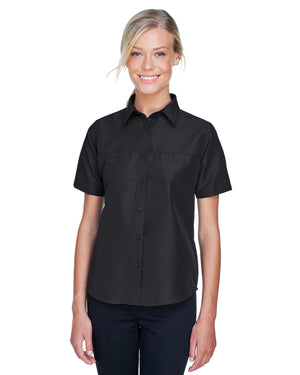 Harriton Ladies' Key West Short-Sleeve Performance Staff Shirt - M580W