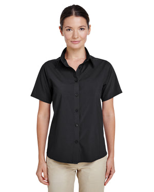 Harriton Ladies' Paradise Short-Sleeve Performance Shirt - M610SW