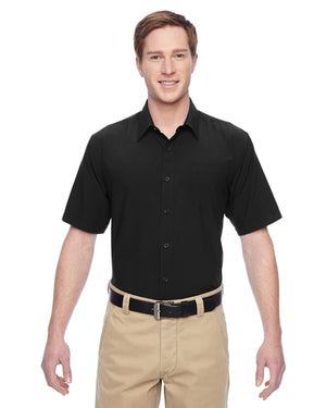 Harriton Men's Paradise Short-Sleeve Performance Shirt - M610S