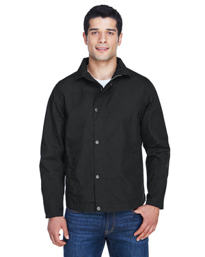 Harriton Men's Auxiliary Canvas Work Jacket - M705