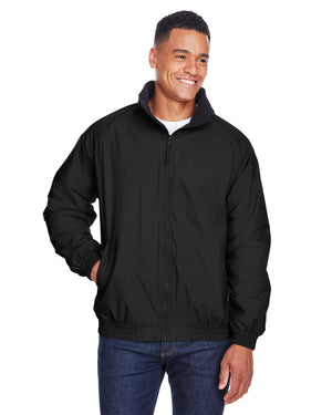 Harriton Adult Fleece-Lined Nylon Jacket - M740