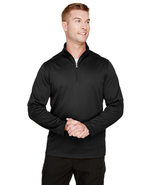 Harriton Men's Advantage Snag Protection Plus IL Quarter-Zip - M748