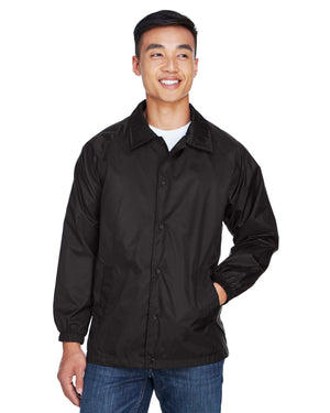 Harriton Adult Nylon Staff Jacket - M775