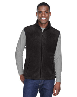 Harriton Adult 8 oz. Fleece Vest - M985