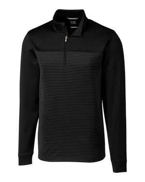 Cutter & Buck Traverse Stripe Half Zip - MCK00088