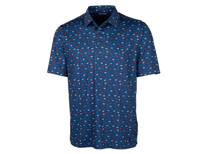 Cutter & Buck Pike Polo Daub Print - MCK01078