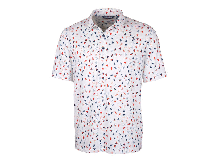 Cutter & Buck Pike Polo Pandion Print - MCK01080