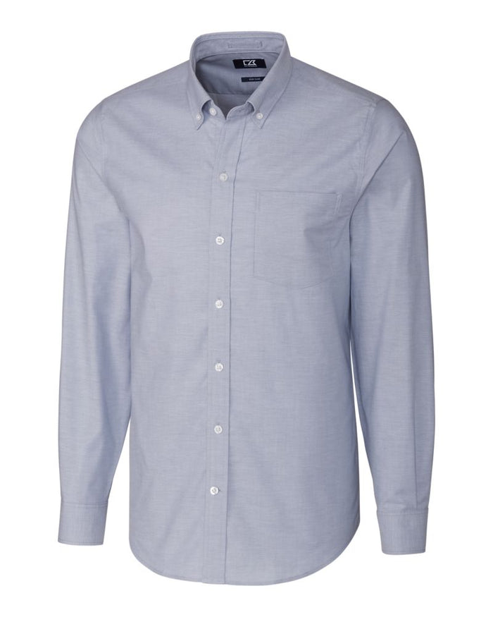 Cutter & Buck L/S Tailored Fit Stretch Oxford - MCW00139