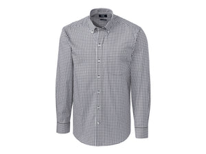 Cutter & Buck L/S Stretch Gingham - MCW00143