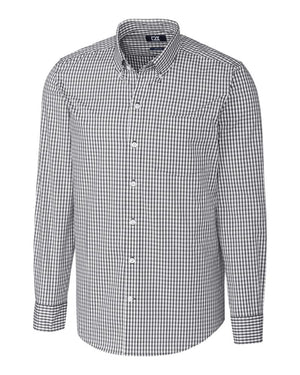 Cutter & Buck L/S Tailored Fit Stretch Gingham - MCW00159