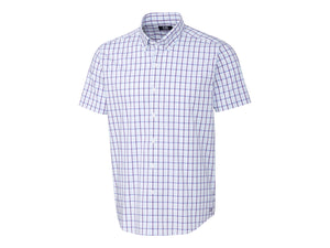 Cutter & Buck Soar Windowpane Plaid Short Sleeve - MCW00167