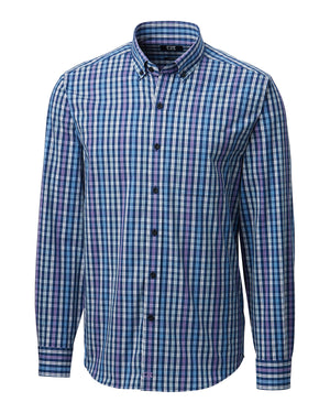 Cutter & Buck Anchor Double Check Plaid - MCW00174