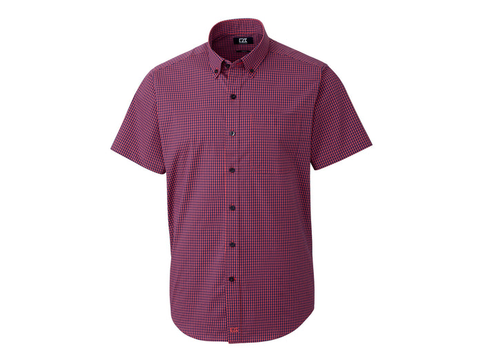 Cutter & Buck Anchor Gingham Short Sleeve - MCW00202