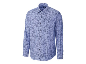 Cutter & Buck Anchor Oxford Tossed Print Shirt - MCW00204