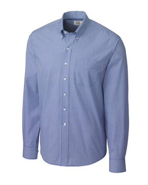 Cutter & Buck L/S Epic Easy Care Gingham - MCW01878