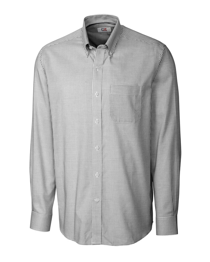 Cutter & Buck L/S Epic Easy Care Tattersall - MCW01891