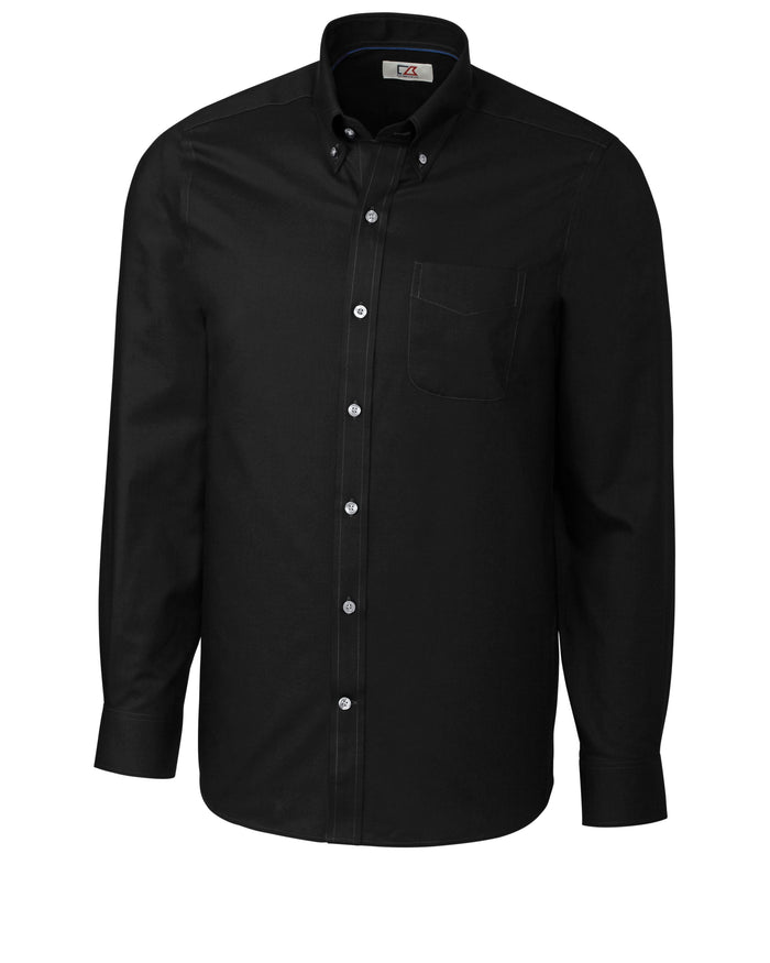 Cutter & Buck L/S Tailored Fit Fine Twill - MCW09400