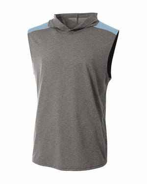 A4 Men's Tourney-Layering Sleeveless Hoodie - N3031