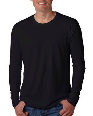 Next Level Men's Cotton Long-Sleeve Crew - N3601