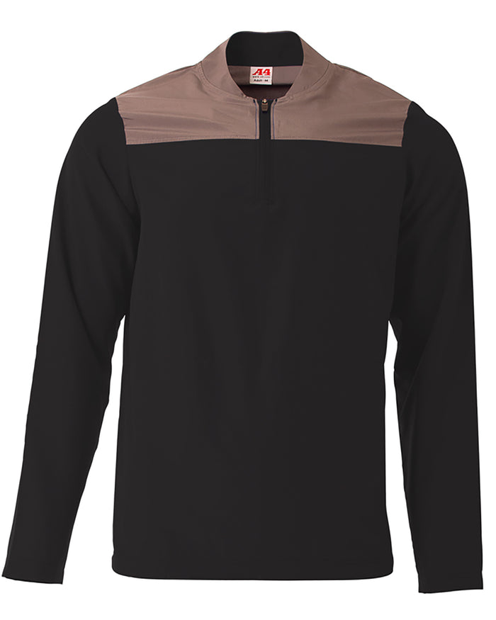 A4 Men's Element Quarter-Zip Jacket - N4014