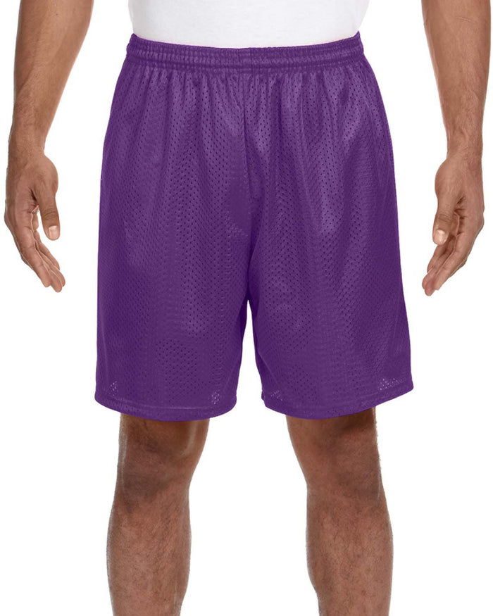 A4 Adult Seven Inch Inseam Mesh Short - N5293