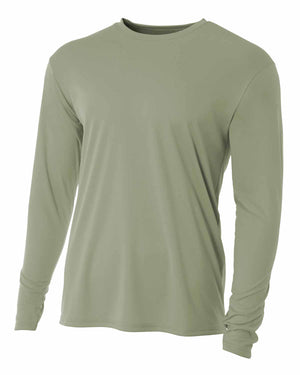 A4 Youth Long Sleeve Cooling Performance Crew Shirt - NB3165