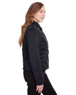 North End Ladies' Pioneer Hybrid Bomber Jacket - NE710W