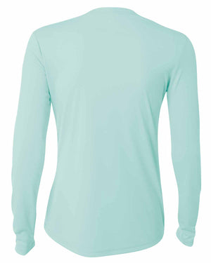A4 Ladies' Long Sleeve Cooling Performance Crew Shirt - NW3002