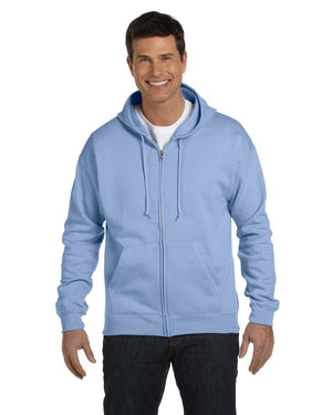 Hanes Adult 7.8 oz. EcoSmart® 50/50 Full-Zip Hood - P180
