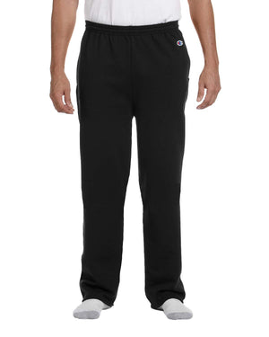 Champion Adult 9 oz. Double Dry Eco® Open-Bottom Fleece Pant with Pockets - P800