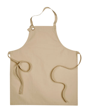 Artisan Collection by Reprime Unisex Calibre Heavy Cotton Canvas Bib Apron - RP130