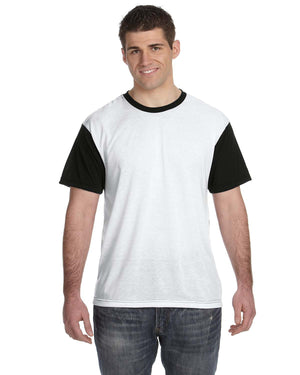 Sublivie Men's Blackout Sublimation T-Shirt - S1902