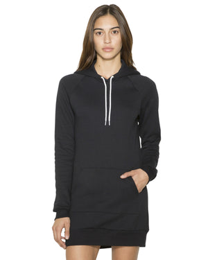 American Apparel Ladies' Flex Fleece Hooded Dress - SAF398W