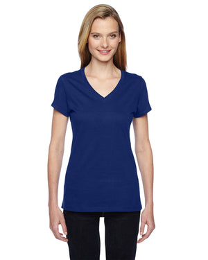 Fruit of the Loom Ladies' 4.7 oz. Sofspun® Jersey Junior V-Neck T-Shirt - SFJVR