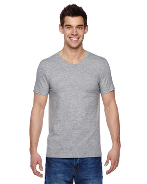 Fruit of the Loom Adult 4.7 oz. Sofspun® Jersey V-Neck T-Shirt - SFVR
