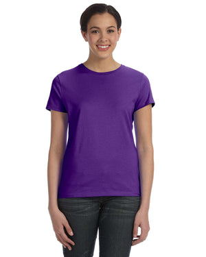 Hanes Ladies' 4.5 oz., 100% Ringspun Cotton nano-T® T-Shirt - SL04