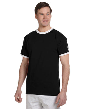 Champion Adult 5.2 oz. Ringer T-Shirt - T1396