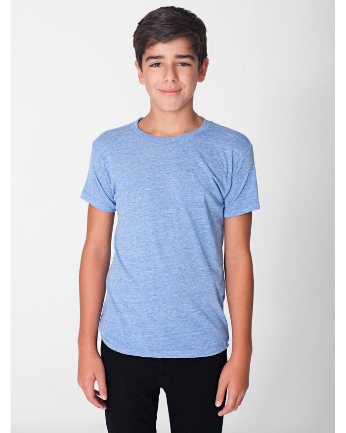 American Apparel Youth Triblend Short-Sleeve T-Shirt - TR201W