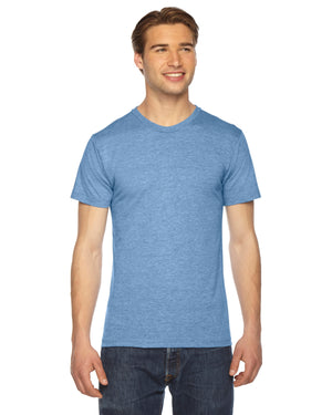 American Apparel Unisex Triblend USA Made Short-Sleeve Track T-Shirt - TR401