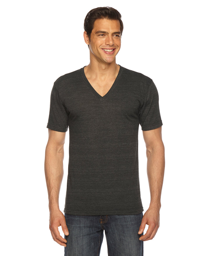 American Apparel Unisex Triblend Short-Sleeve V-Neck - TR461W