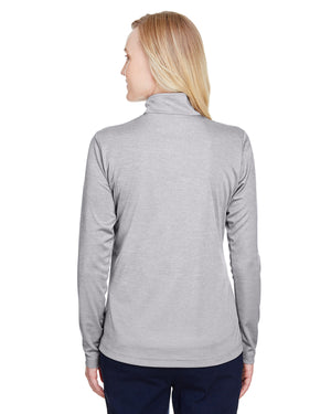 Team 365 Ladies' Zone Sonic Heather Performance Quarter-Zip - TT31HW