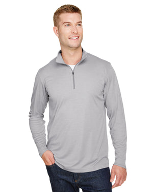 Team 365 Men's Zone Sonic Heather Performance Quarter-Zip - TT31H
