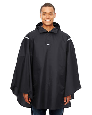 Team 365 Adult Zone Protect Packable Poncho - TT71