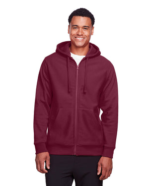 Team 365 Adult Zone HydroSport™ Heavyweight Full-Zip Hooded Sweatshirt - TT95