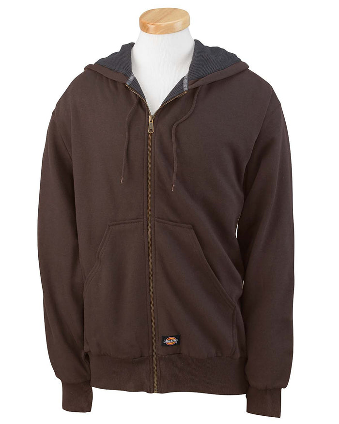 Dickies Men's 470 Gram Thermal-Lined Fleece Hooded Jacket - TW382